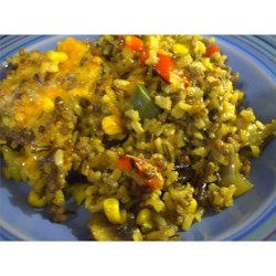 Wild Rice and Beef Casserole Recipe - This is a nice alternative to wild rice and chicken dishes. It is easy, and everyone loves it.
