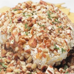 Blue Cheese Ball Recipe - Only five ingredients combine to make an unforgettable classic cheese ball with the distinctive flavor of blue cheese.