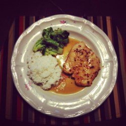 Honey-Dijon Chicken With A Kick