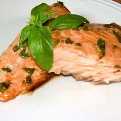 Anne's Fabulous Grilled Salmon Recipe - This is a grilled salmon recipe that is used at the Saint Matthew Parish picnic every year in Seattle, Washington. It works well with any cut of salmon for grilling, however we typically use salmon fillets. Use wild sockeye or king salmon.