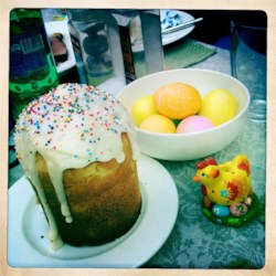 Kulich (Russian Easter Cake)