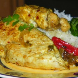 Chicken Fry Recipe - Hotly spiced, this golden Indian chicken saute is ready to serve in minutes.