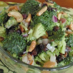Sweet broccoli pasta salad recipe