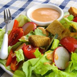 Easy Tomato Vinaigrette Recipe - Tomato vinaigrette made with tomato juice, shallots, and the right amount of seasoning goes quite nicely with any salad.