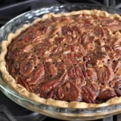 Chef John's Pecan Pie Recipe and Video - Chef John's recipe for pecan pie has the perfect blend of nuts and sticky toffee filling with a wonderfully crisp crust.