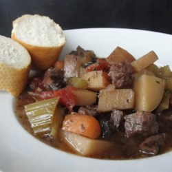 Northern Italian Beef Stew Recipe - This hearty beef stew packed with vegetables and herbs is a family favorite.