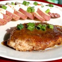 Bourbon Pecan Chicken
