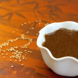 Sesame Ginger Sauce Recipe - A great dipping sauce for chicken that combines soy sauce, Dijon mustard, sesame oil, and ginger.
