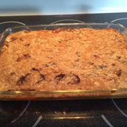 Apple Spice Dump Cake Recipe - This cake was done on a whim trying to think of something other than the traditional dump cake to serve for Memorial Day.  It turned out very good, especially with some vanilla ice cream.