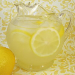 Thirst Quenching Lemonade Recipe - Simple syrup is made by boiling water and sugar together. This syrup is then mixed with lemon juice and ice water for a thirst quenching beverage.