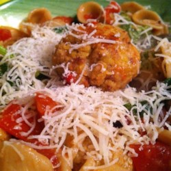 Tempeh 'Meatballs' Recipe - Vegetarian meatballs made with tempeh and plenty of seasonings are a tasty substitute for beef meatballs and go well with spaghetti or on a submarine sandwich.