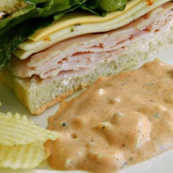 Not Thousand Island Dressing Recipe - This recipe for Thousand Island Dressing is anything but usual, and is perfect for your next Reuben sandwich or grilled bratwurst.