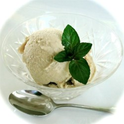 Irish Cream Ice Cream  Recipe - The flavor of real Irish cream comes through in this simple, easy ice cream. Use your ice cream maker to turn out this specialty treat at home.