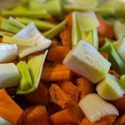 Sautéd Carrots and Leeks