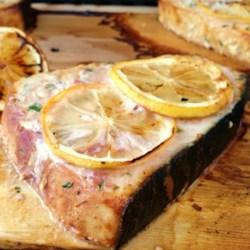Spicy Grilled Swordfish