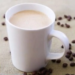 Coconut Oil Coffee Recipe - Start your morning off right with this mind-blowing recipe for hot coffee with coconut oil and butter.
