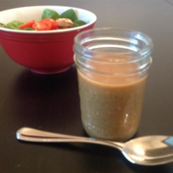 Maple Salad Dressing Recipe - Maple syrup lends its flavor and sweetness to this balsamic vinaigrette with basil and lemon juice.