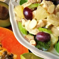 Overnight Chicken and Fruit Salad