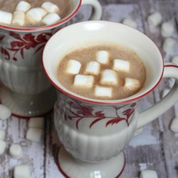 Smooth Hot Chocolate Recipe - Stir hot chocolate, milk powder, sugar, cocoa, cinnamon, and salt with boiling water and you have homemade hot chocolate in a flash.