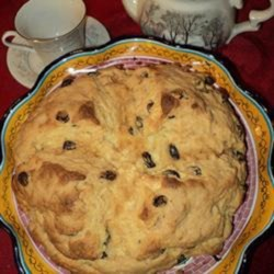 Liquor-Infused Irish Soda Bread Recipe - A hearty dose of Bailey's(R) Irish cream liqueur takes this soda bread recipe to a whole new level.