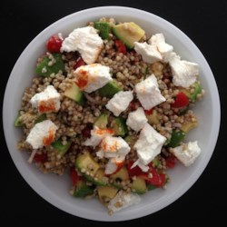 Gluten-Free Buckwheat Avocado Salad Recipe - This quick and easy buckwheat avocado salad with goat cheese is gluten-free and a surefire crowd-pleaser.