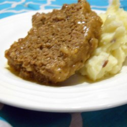 Meatloaf for Tomato Haters Recipe - Brighten up your meatloaf with this tomato-free meatloaf recipe that features a spicy kick!