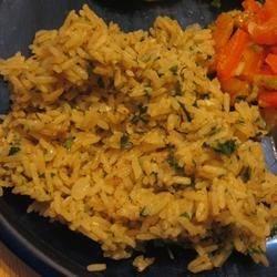 Orange Cilantro Rice