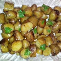 Balsamic Grilled Baby Potatoes Recipe - If the grill is on, why not wrap some potatoes seasoned with balsamic vinegar and onion powder in aluminum foil and let them cook next to the meat?