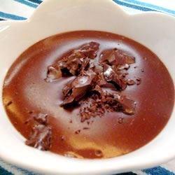 chocolate pudding yay