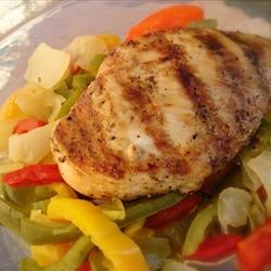 Vinegar Grilled Chicken