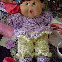 I love to crochet