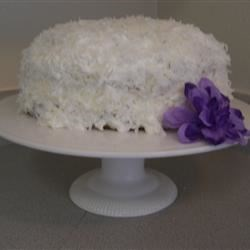 Pina Colada Cake II Recipe - Easy, easy, easy, and oh, so good!  Make this a day ahead of serving.