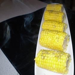 Garlic Lovers Grilled Corn