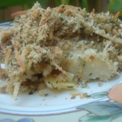 Baked Artichokes Recipe - Canned artichokes can be baked with lemon juice and zest under a layer of bread crumbs and Parmesan cheese for a tasty side dish or appetizer.