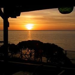 From the front porch of our home. . . Sunset Beach House