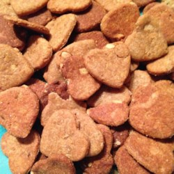 Peanut Butter and Banana Dog Biscuits