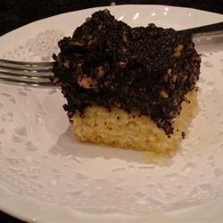 Poppyseed Squares/Cake