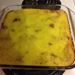 Pineapple Bread Pudding Recipe - Pineapple bread pudding is a sweet accompaniment to ham and green beans at Easter brunch or holiday dinners.