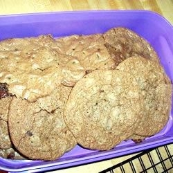 Mocha Chocolate Cookies Recipe - These rich, dark cookies are called 'moaners' for the response they inspire through their chocolate and coffee-infused deliciousness.