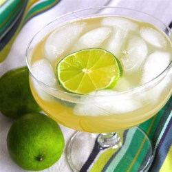 Riverbank Margaritas Recipe - Riverbank margaritas made with limeade, tequila, lemon-lime soda, and beer are easy to make when you are camping!