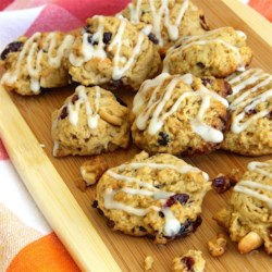 Cranberry Cashew Jumbles Recipe - Cranberry and cashew cookies with a hint of orange are a colorful cookie for the holiday season, but can be made any time of the year.