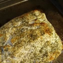 Fresh Herbed Halibut Recipe - This recipe is awesome for fresh halibut - fresh herbs, lemon and dill spice the fish without overpowering the taste while remaining healthy and satisfying!