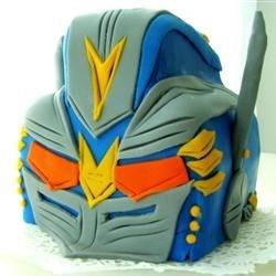Optimus Prime Bday Cake
