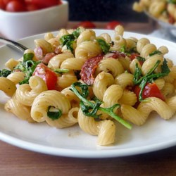 Chef John's BLT Pasta  Recipe - The flavors of America's favorite sandwich, bacon, lettuce, and tomato, combine in a fresh and tasty pasta dish that cooks up in a jiffy.