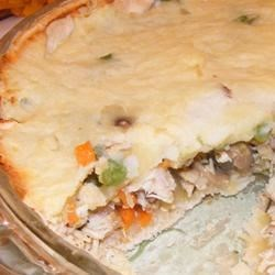 Becca's Custom Turkey Shepherd's Pie
