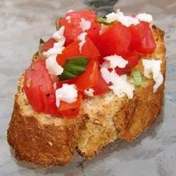 Angel's Yummy Bruschetta Recipe - A delicious Italian appetizer that was divided and revised and modified over several years. I hope you enjoy it ...