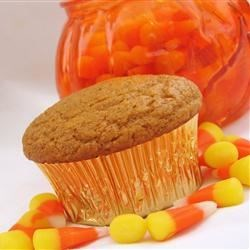 Decadent Pumpkin Muffins Recipe - I love pumpkin muffins, and I wanted to create a version with less fat and calories that still tasted good. These muffins turn out moist and full of flavor!