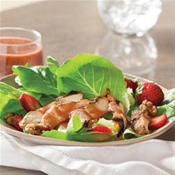 Strawberry Balsamic Dressing Recipe - Add strawberry preserves to your favorite balsamic vinaigrette dressing to bring delicious fruit flavor to crisp salad greens.