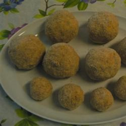 Cheese and Potato Rissoles Recipe - This rissole recipe is a copycat of an item served in a southern Wales fish-and-chip shop, delivering deep-fried balls of mashed potatoes.