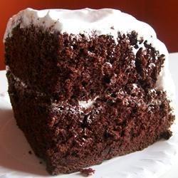 Dark Chocolate Cake 1